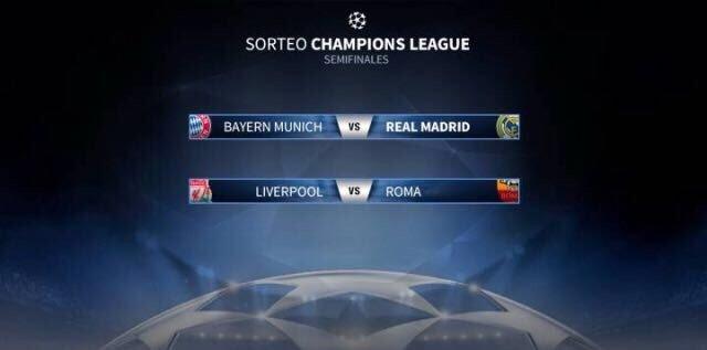 1030264 - Las semifinales de Champions