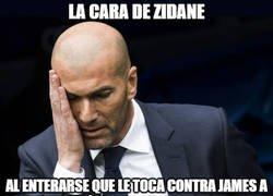 Enlace a Zidane vs James