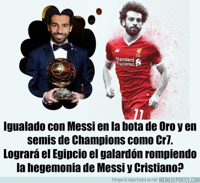 1030333 - ¿Conquistará Mohamed Salad el BDO por delante de Messi y CR7? En su mano está