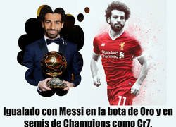 Enlace a ¿Conquistará Mohamed Salad el BDO por delante de Messi y CR7? En su mano está