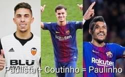 Enlace a Bonita fusión la producida hoy en el Camp Nou