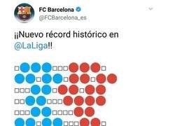 Enlace a El CM del Twitter del Barça hizo el tifo del derbi
