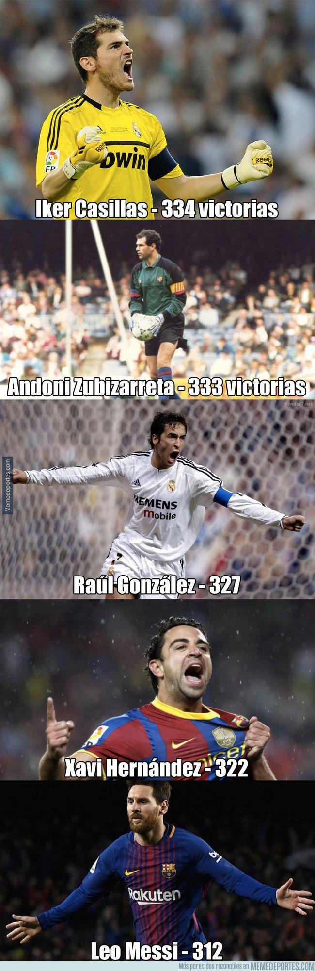 1030479 - Messi entra en el Top 5 de victorias en Liga y le quedan estos jugadores por batir