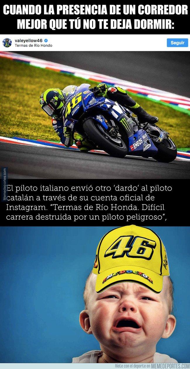 1030511 - Rossi sigue llorando y vuelve a atacar a Márquez en su instagram