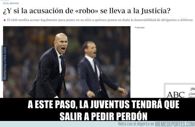 1030552 - El Madrid podría tirar de abogados para limpiar su imagen