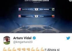 Enlace a Posible lesión de Vidal tras este tuit