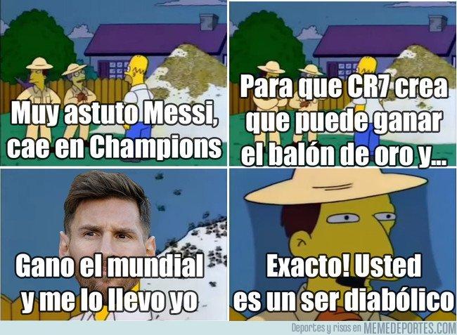 1030607 - El diabólico plan de Messi para el balón de oro
