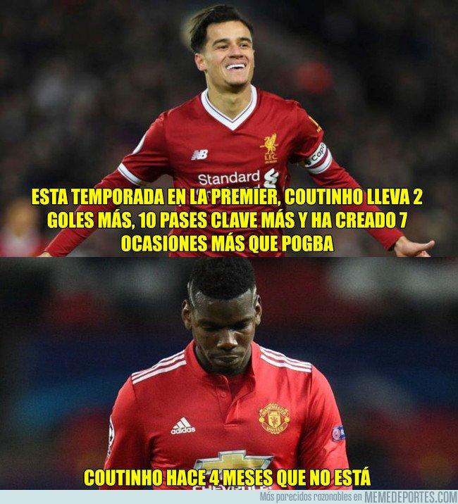 1030688 - Coutinho vs Pogba