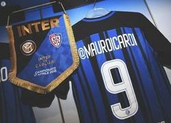 Enlace a El Inter salió anoche al campo con camisetas con el nick de Instagram de sus jugadores