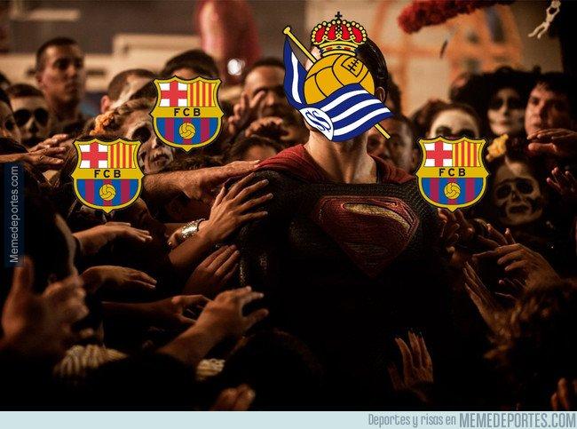 1030993 - La liga a punto para el Barça gracias a la Real Sociedad
