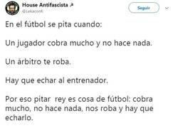 Enlace a Por favor no mezclar fútbol y política