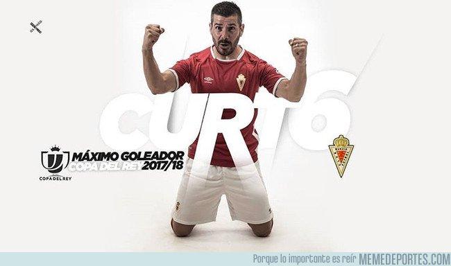 1031269 - Y sin hacer mucho ruido, Victor Curto del Murcia se convierte en pichichi de la Copa del Rey