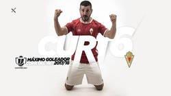 Enlace a Y sin hacer mucho ruido, Victor Curto del Murcia se convierte en pichichi de la Copa del Rey