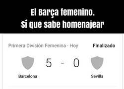 Enlace a Nueva humillación culé al Sevilla