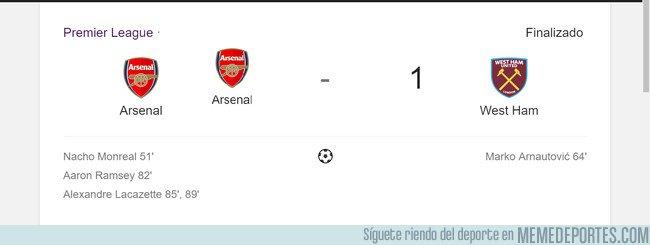 1031511 - El Arsenal se esmeró en hacerse un tributo