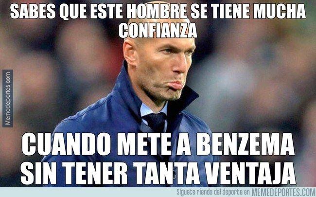 1031771 - Zidane se tiene mucha confianza