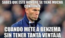 Enlace a Zidane se tiene mucha confianza
