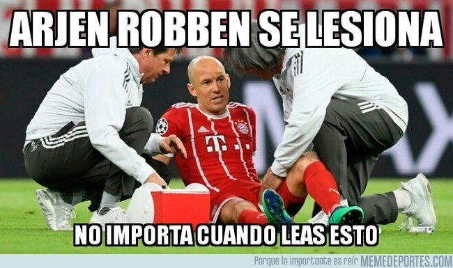 1031870 - Lesión de Robben