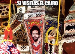 Enlace a Si vas al Cairo, Salah, Salah everywhere