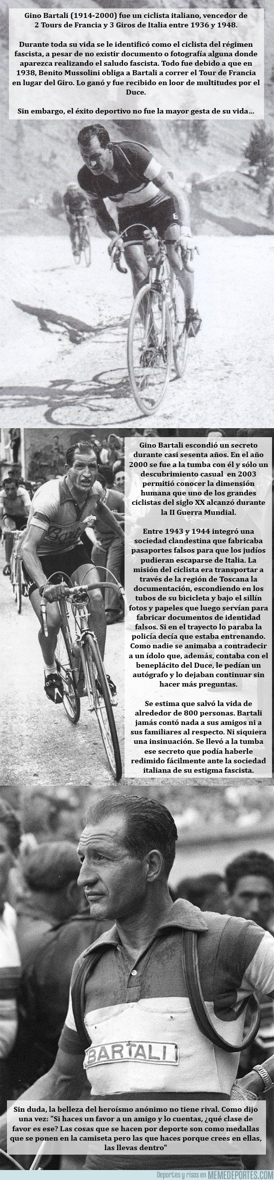 1032710 - El Giro homenajerará, en su salida desde Israel, a Gino Bartali