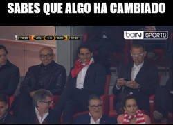 Enlace a Rafa Nadal, madridista, animando al Atlético de Madrid