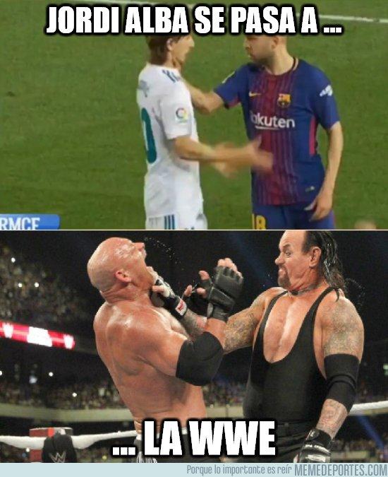 1033037 - Jordi Alba se pasa a la WWE