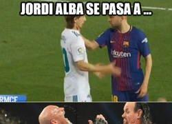 Enlace a Jordi Alba se pasa a la WWE