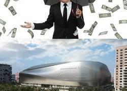 Enlace a Así quedará el Bernabéu tras la remodelación de 400 millones de euros que se quiere fundir tito Floren