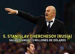 Enlace a Los 5 seleccionadores del Mundial de Rusia que más cobran