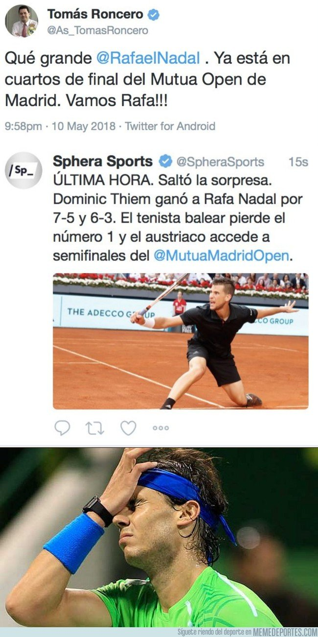 1033511 - Roncero sigue en plena forma, por @ElChirincirco