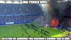 Enlace a La que han liado los ultras del Hamburgo...