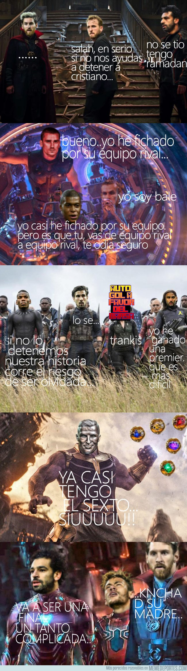 1033633 - La final de temporada recreada con Infinity War