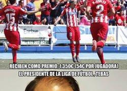 Enlace a El lamentable premio que reciben las jugadoras del Atlético de Madrid femenino por ganar LaLiga