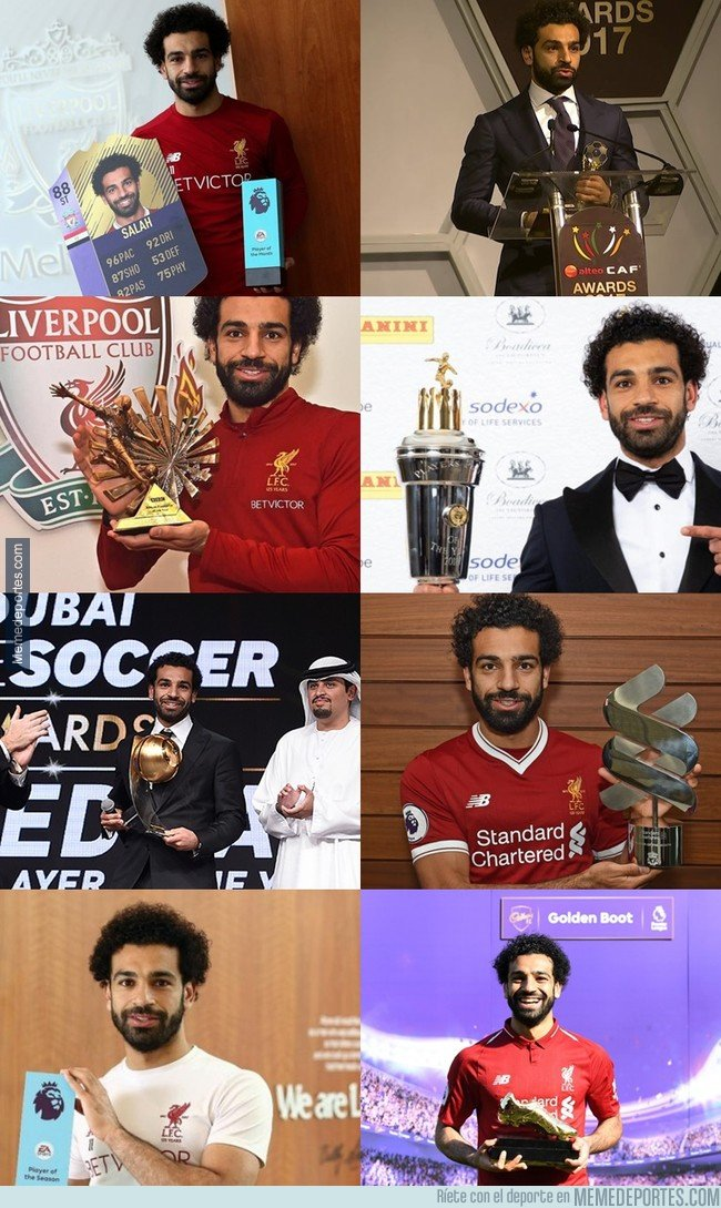 1033655 - Vaya añito lleva Salah
