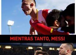Enlace a Messi respira aliviado