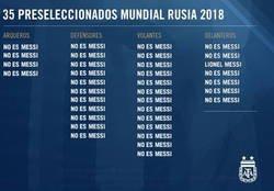 Enlace a La pre-lista de Argentina para el Mundial
