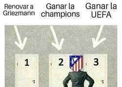 Enlace a El Atlético y la UEFA, la UEFA y el Atlético
