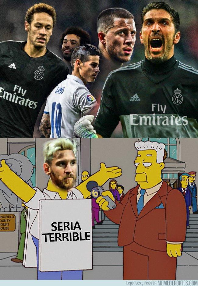 1034196 - Messi lo ve bastante claro, si todos los rumores de fichajes fueran ciertos