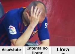 Enlace a Tras el último partido de Iniesta
