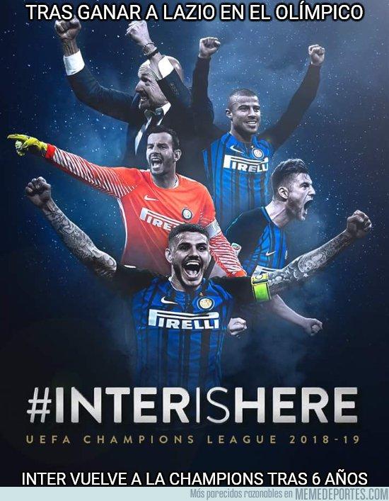1034506 - Tras 6 años, el Inter vuelve a la Champions League