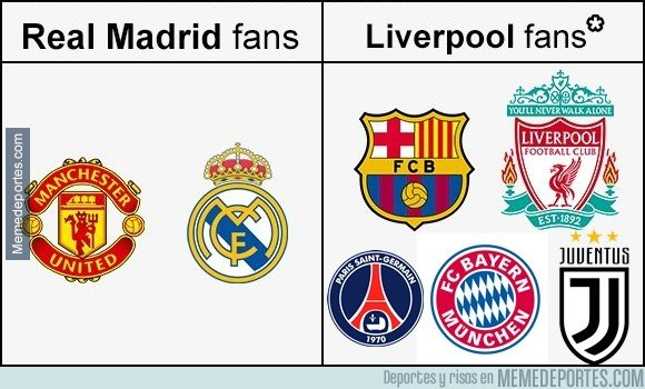 1035000 - Fans del Real Madrid y Liverpool