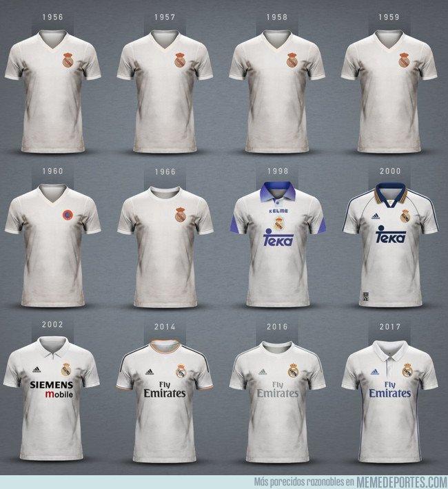 1035004 - Las equipaciones del Real Madrid campeón de Europa