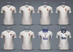 Enlace a Las equipaciones del Real Madrid campeón de Europa
