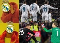 Enlace a La champions del Madrid es cosa de porteros