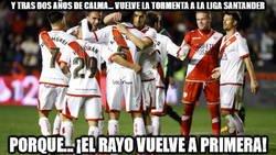 Enlace a El Rayo Vallecano vuelve a primera división