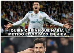 Enlace a Espectacular gol de Marco Asensio a Dua Lipa
