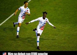 Enlace a Atentos a Timothy Weah