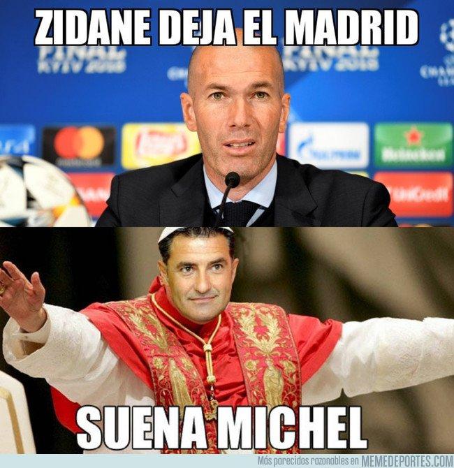 1036110 - Ante la marcha de Zidane...