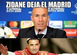Enlace a Ante la marcha de Zidane...
