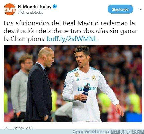 1036124 - Las exigencias de Zidane llevan a esto